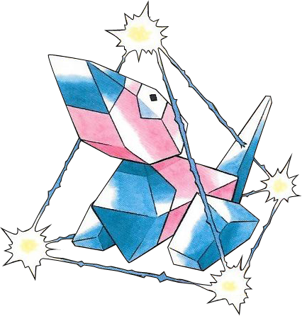 Porygon using Tri Attack